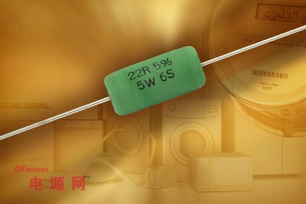 Vishay新款可熔断绕线安全电阻可承受6kV浪涌电压
