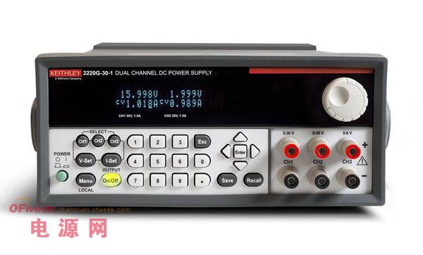 吉时利新增两款GPIB可编程稳压电源