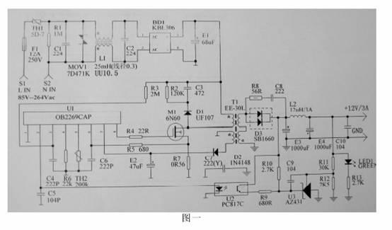 工作频率,变压器的设计有关的,不能应用于所有开关电源的电路.