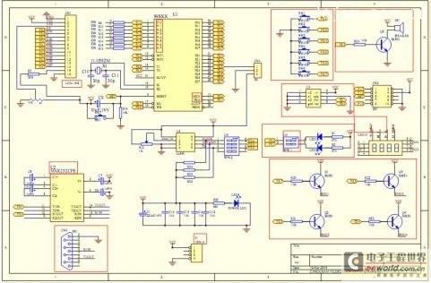 stc串口下载软件,网络上很多.   9,安装电路图焊接,调试.