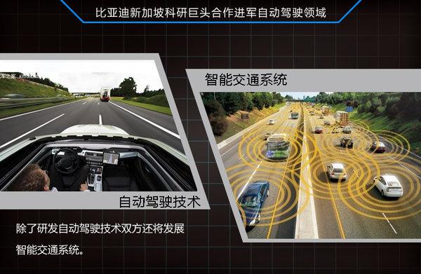 比亚迪与新加坡建智能交通 研发自动驾驶