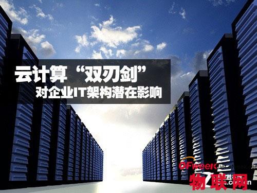 """云计算""""双刃剑""""如何影响企业IT架构"""