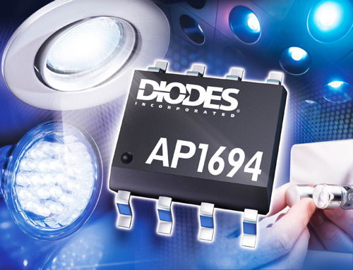 Diodes发布总线可调光LED灯驱动器