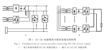 IGBT器件的大功率DC/DC电源并联技术研究