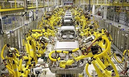 工业机器人需求旺盛 多地抢食产业大蛋糕