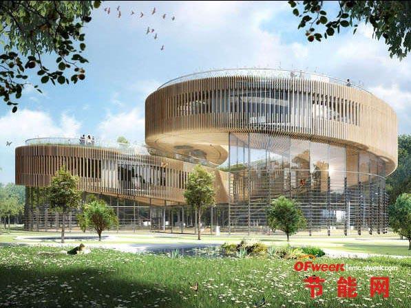 【绿色创意】比利时建筑师打造炫目未来生态城