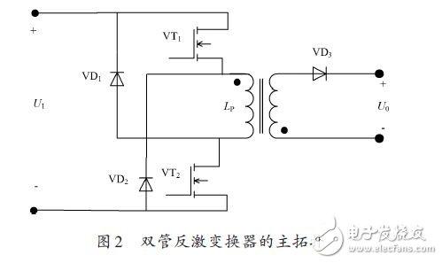 基于UC1845的多路输出双管反激开关电源方案