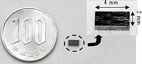开发的小型相干混频器