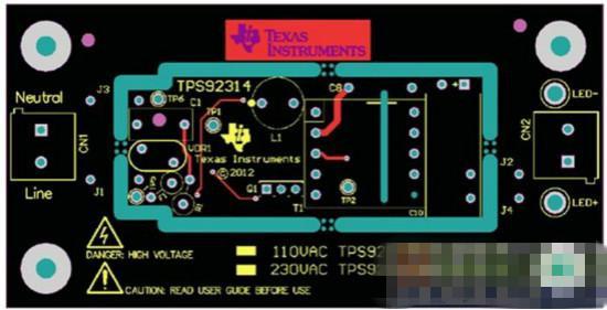 基于TI产品的智能LED照明电源驱动方案