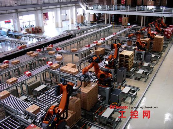 机器人工厂智能制造