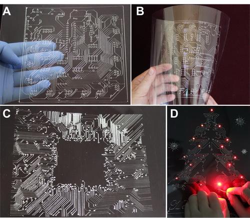 世界首台全自动液态金属个人电子电路打印机面世