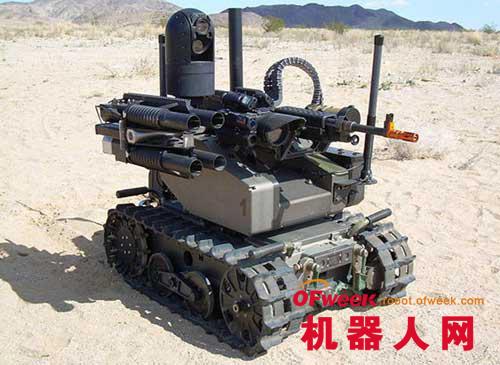 研发军事机器人是在自掘坟墓?
