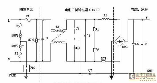 当加在压敏电阻两端的电压超过其工作电压时,其阻值降低,使高压能量