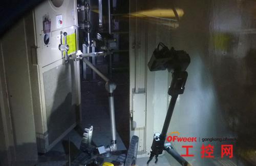 参与福岛核电站拆除任务的机器人