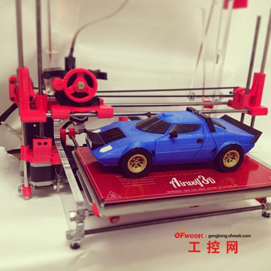 3d打印是从无到有的制作过程