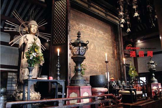 收藏有国宝的日本寺院引进无需电池的无线照明控制系统