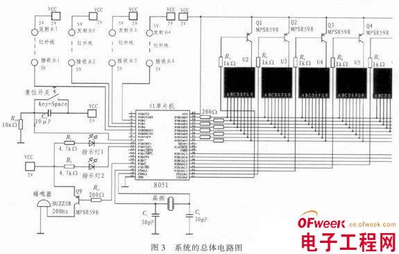 基于89c51和红外对射技术的安全警示系统设计 - 电子