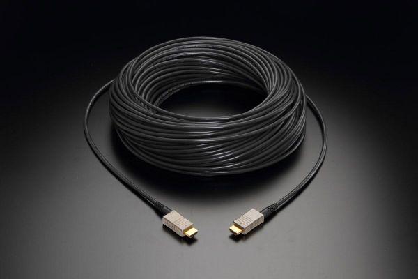 线材光纤化 AOC传输方案使用效益大