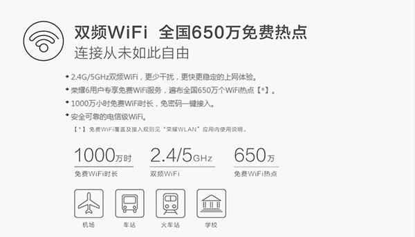 免费WIFI无限畅玩 荣耀6专属WLAN初体验