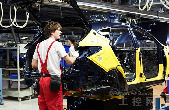 韩国起亚汽车生产制造全过程 高清图高清图片