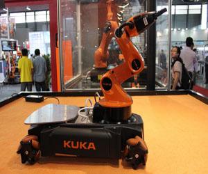 库卡 机器人 库卡应用最广泛的十大 小型机器人