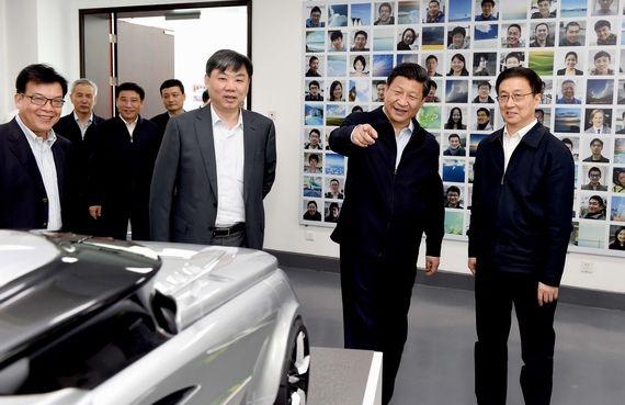 """带领本国发展新能源汽车 中美德三国领导人的""""帽子""""谁最绿色?"""
