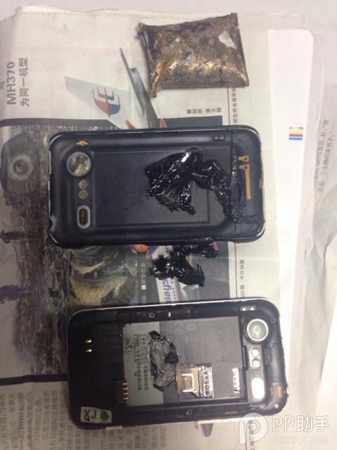 地铁早高峰爆炸声引惊恐 原是HTC手机电池爆炸