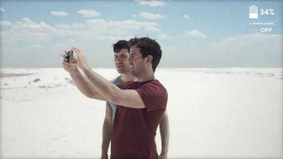 三星发布新广告:标榜Galaxy S5电池续航胜出iPhone