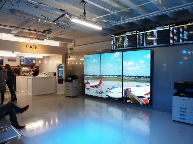图说三星未来商场构想:机场到车展厅
