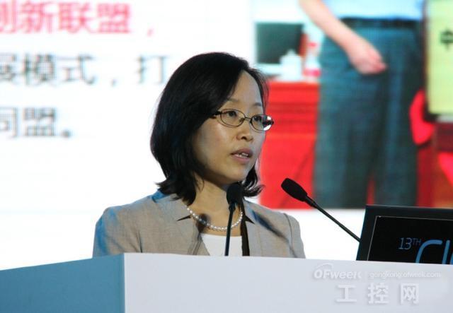 中国互联网协会副理事长曹淑敏
