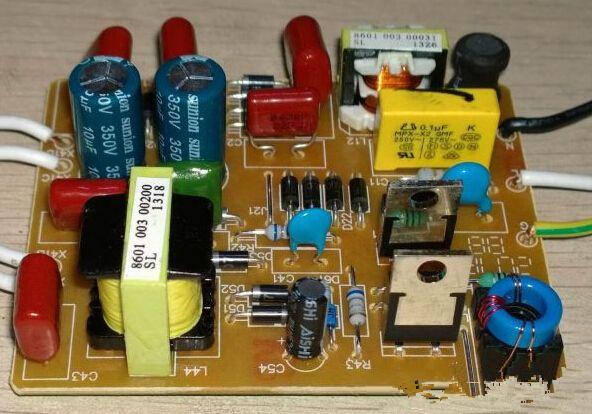飞利浦镇流器电容接线图