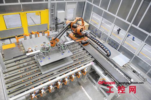 业机器人公司排名图片