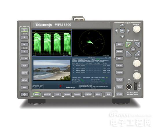 泰克波形监测仪可满足拍摄、后期制作及广播市场的4K需求