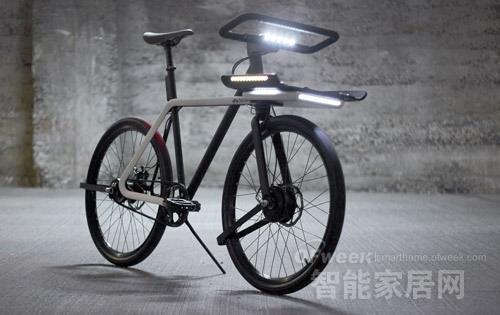"""智能自行车2015年投产 可拆卸马达""""亮眼"""""""