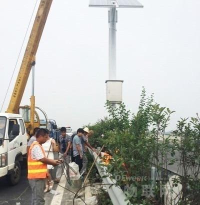 """听说过""""感知公路""""吗?在新淮江就建好了一条"""