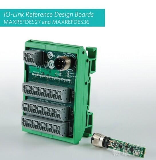 Maxim Integrated推出用于接近检测、加强分布式控制的两款IO-Link参考设计