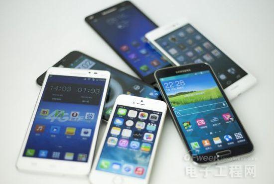 6款4G手机综合检测对比:三星拔头筹华为P7力