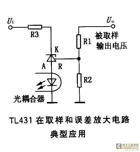 TL431在开关电源中的运行原理及其典型应用