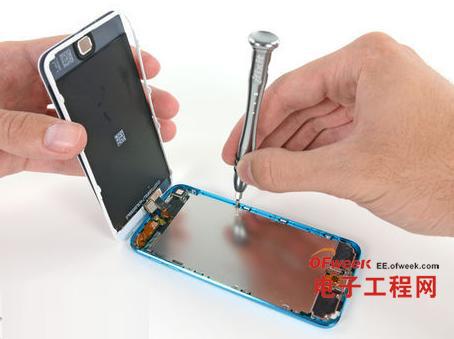 拆解达人:iPhone 5姊妹iPod Touch 5完全拆解