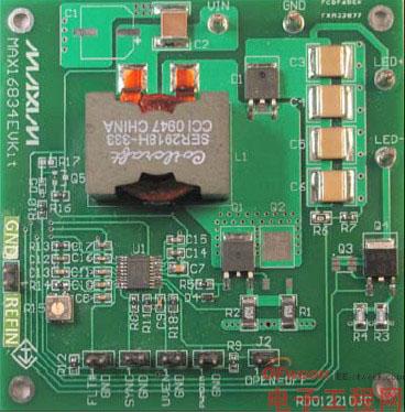 LED大功率DC-DC 全陶瓷电容boost逆变驱动方案