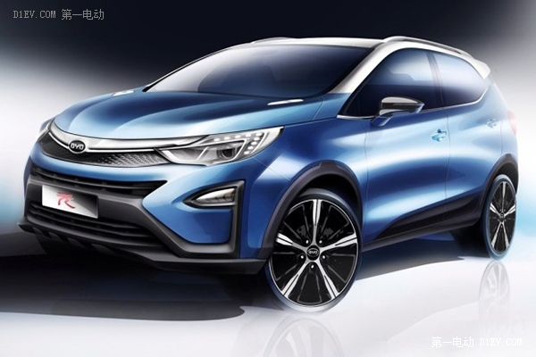 比亚迪宋元来袭 2015上海车展新能源汽车预览高清图片