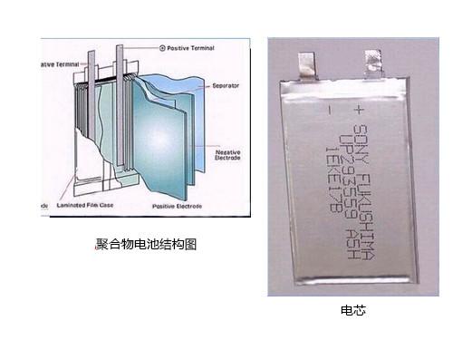 聚合物电芯结构图