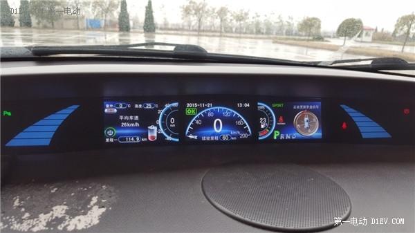 新能源汽车比亚迪E6周末冰雪天驾驶体验评测 有惊无险 图文高清图片