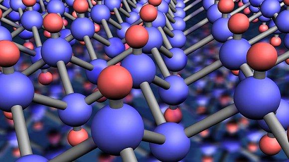 晶体的分子结构