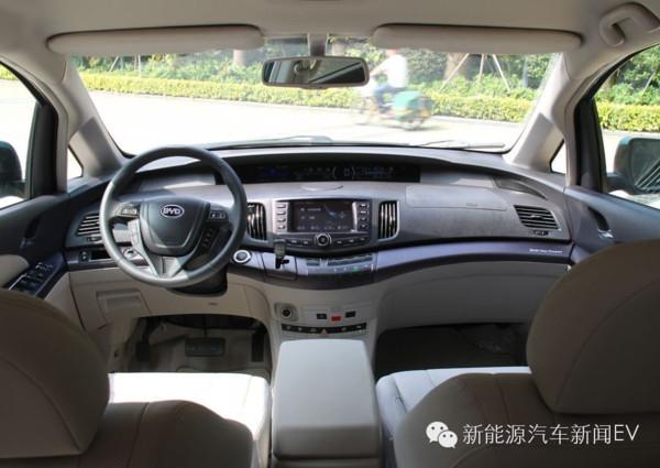 比亚迪E6 秦 唐 宋 秦EV五款新能源汽车简单评测 图高清图片