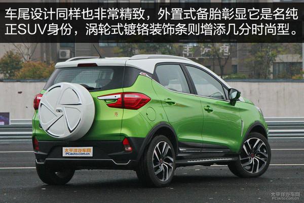 解析比亚迪元:破百4.9s 征战小型SUV领域(图文)