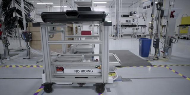 特斯拉超级电池工厂的内部图片曝光了(图)