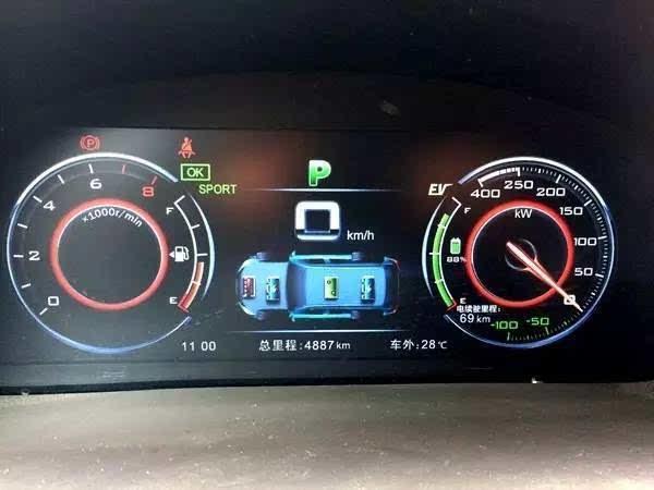 新能源汽车比亚迪唐试驾报告及与途观成本对比 图高清图片
