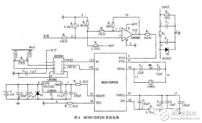 电动汽车eps数字模型与电路原理分析