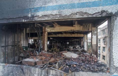 深圳美拜电子厂锂电池起火爆炸 龙华已查封8家电池企业图片